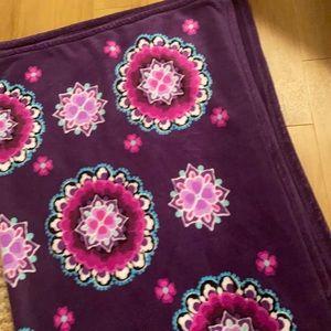 Vera Bradley large throw blanket.